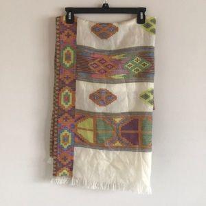 Anthropologie Wool Scarf/Wrap